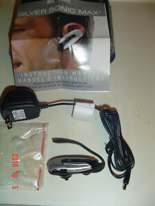 BELL & HOWELL SILVER SONIC MAX PERSONAL HEARING SOUND AMPLIFIER