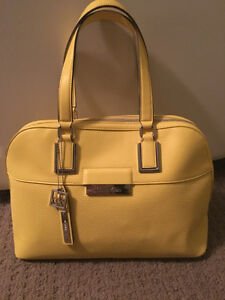 Calvin Klein Handbag, yellow - like new
