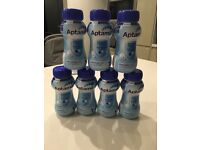 7 X Aptamil ready made milk