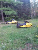 Two sleds one price need gone