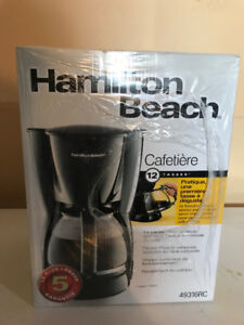 Brand New 12 cup coffee maker