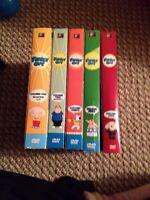 Family Guy DVDs Volume 1-5