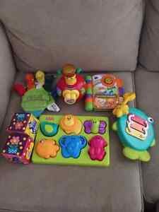 Lot of toys for 1-2 years baby in excellent condition