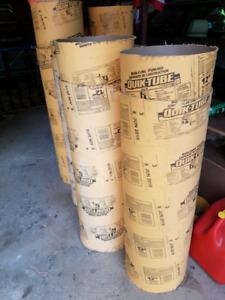 """Concrete form tubes (sonotubes) - 12"""" diameter, 20 pieces"""
