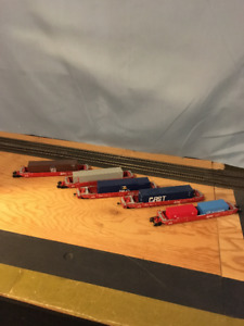 HO Scale Intermodal Cars