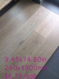 WHITE OAK ENGINEERED FLOOR EUROPEAN STYLE