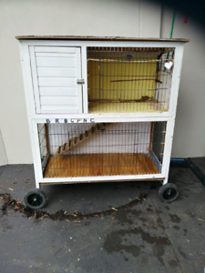Guinea Pig Cage Hutch (can deliver)