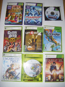 10 Xbox 360 games for sale