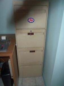 Filing cabinet 4 drawers