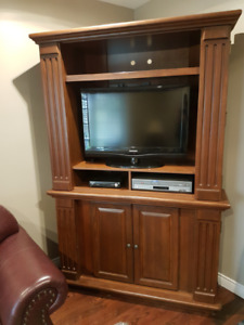 Corner Entertainment Unit
