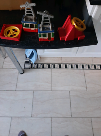Rigi Cable car set.