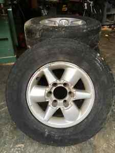 4 - R16 rims and all season tires Prince George British Columbia image 1