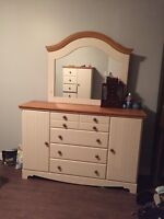 Dresser armoire night stands