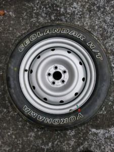 """new full size 16"""" spare tire and rim"""