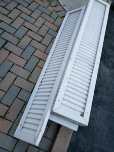 EXTERIOR DECORATIVE ALUMINUM SHUTTERS