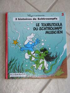 Le tourlitoula du schtroumpf musicien tome 3,série 3 histoires