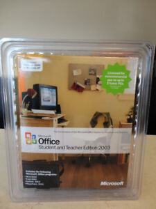 Microsoft Office 2003 Works with Windows 2000 or XP (maybe more)