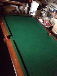 for sale pool table its the full adults size table
