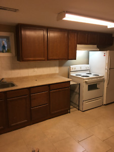 2 Bedroom plus, Basement Apartment Close to McMaster, $1,000 +