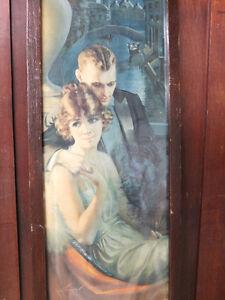 2 panneaux publicitaires POMPEIAN BEAUTY de ''Gene Pressle''
