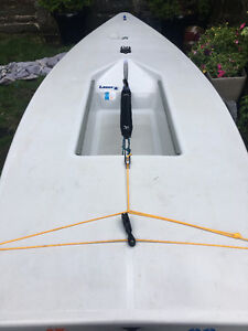 2014 Laser sailboat in near perfect condition