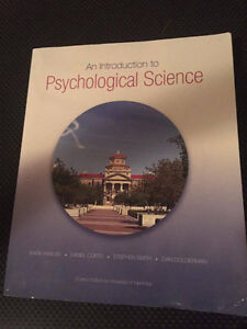 An Introduction to Psychological Science Textbook