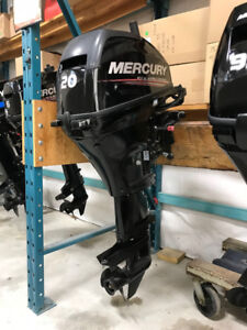 Brand New Mercury 20MLH Outboard Motor