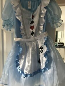 Alice in wonderland costume, never worn M/L