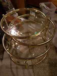 Glass Nesting table London Ontario image 1