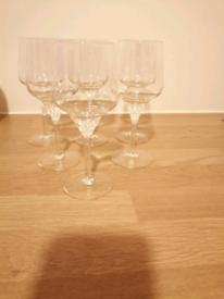 6 Champaign glasses