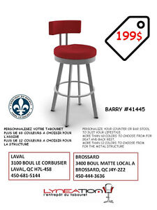 KITCHEN COUNTER STOOLS- MADE IN QUEBEC