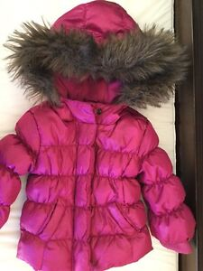 Down winter coat for a baby girl - GAP - 18-24 month