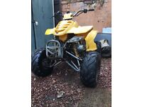 110 4 Stroke Quad , All Gears Work fine Inc Reverse , Old But Still Runs First Time Cold . Chinese