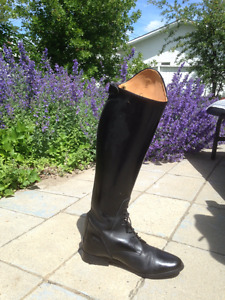 Tall English riding boots - show condition!
