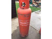 Empty Propane 47 kg Calor gas bottle
