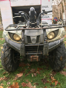 2007 Grizzly 450 Camo Hunter Edition