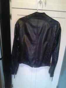 Womens leather jacket St. John's Newfoundland image 2