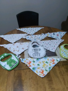 Assorted bibs for sale asking $5