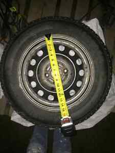 Winter tires for sale! Seen one season only!! Kawartha Lakes Peterborough Area image 2