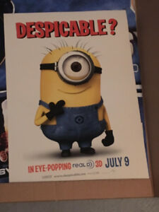 Minions Movie Poster Despicable Me