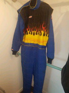Race suit and gloves  size XL