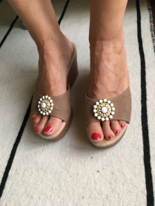 Summer ladies mules