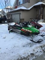 Great starter sled! Mint cond. with only 580km
