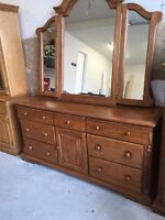 Want gone asap!  Solid oak dresser