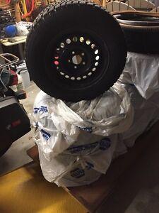 Snow Tires on rims London Ontario image 3
