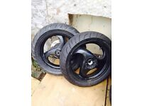 Piaggio nrg wheels not typhoon gillera zip
