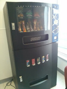Seaga combo vending machine in west end