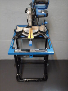 Saw with stand