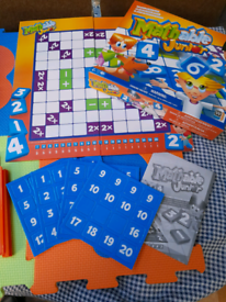 Mathable Junior Game Elementary Ages 5+ Number Scrabble Educational