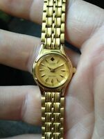 Dainty and classy ladies / girls citizen gold tone watch